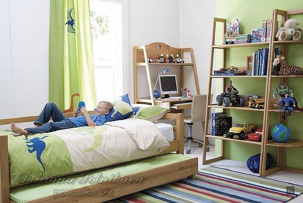 Обои для детской комнаты для мальчика желтые