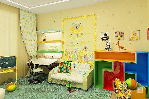 100 лучших идей обои в комнате для девочки на фото