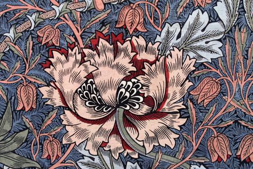 Дизайн росписи от Уильяма Морриса