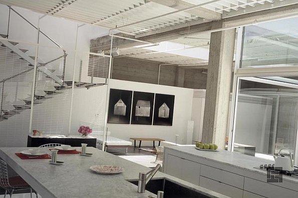 Кухня в стиле лофт и основы урбанистического дизайна