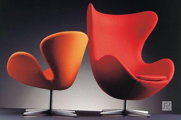 Необычные кресла от Арне Якобсена