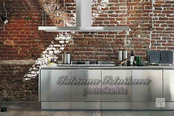 """Высокие технологии в проекте """"кухня в стиле хай-тек"""""""