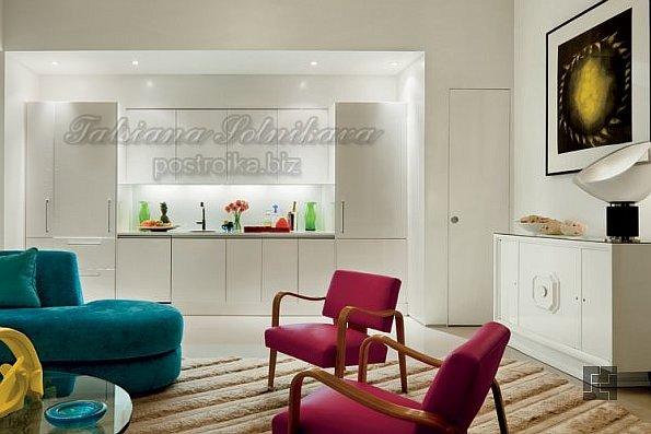 Белая кухня в интерьере -- как невеста под венец...