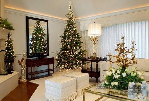 В ожидании чуда, или Новогодний дизайн квартиры своими руками