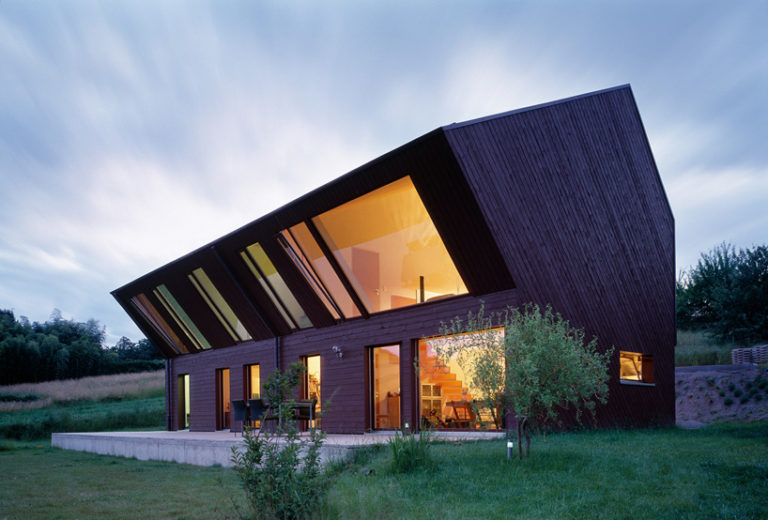 Дизайны необычных домов