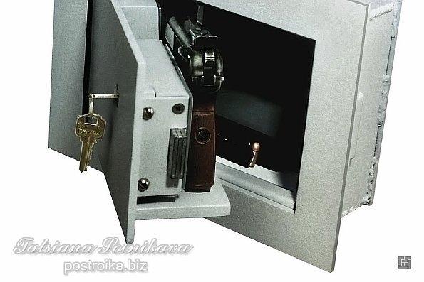 Встраиваемые сейфы, купить сейф встраиваемый в