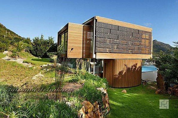Вилла Spa House от Metropolis Design в Кейптауне