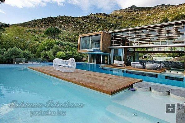 Необычная вилла Spa House от Metropolis Design