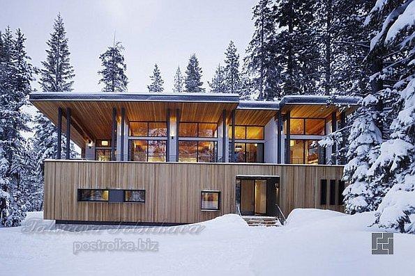 Горная резиденция Sugar Bowl от John Maniscalco Arhitecture в Калифорнии