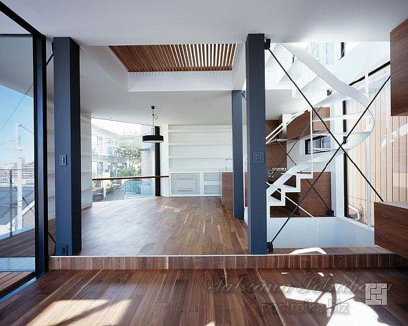 Интерьер дома Vista House