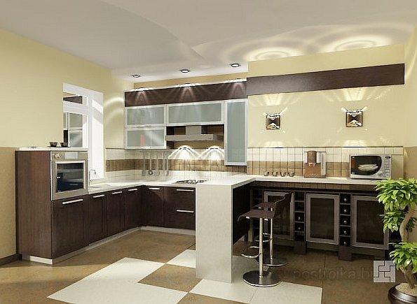 Все о функциональном дизайне кухонь с барной стойкой. Варианты и советы специалистов