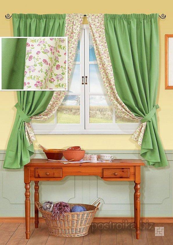 Современный дизайн штор на кухню (фото-рекомендации)