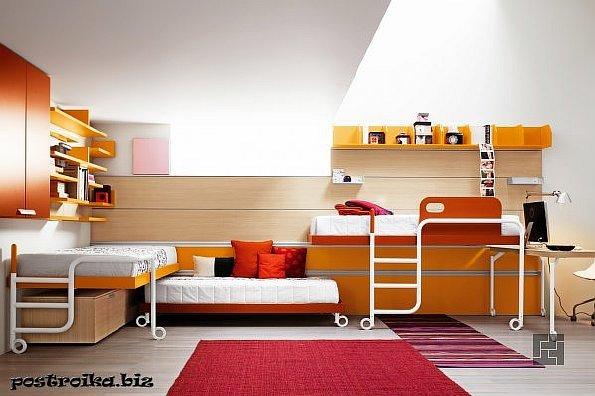 Интересные решения дизайна детской комнаты для бунтующего подростка