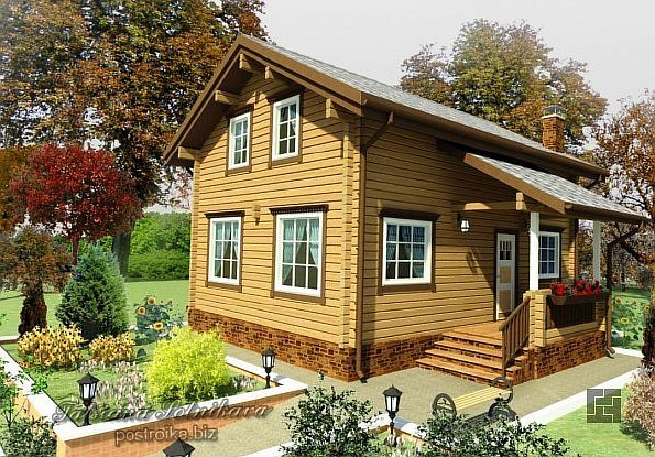 Узнай, как строить дом из бруса, сравни с другими вариантами и сделай выбор!