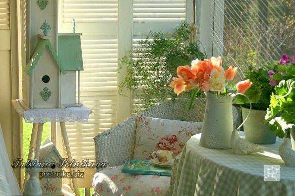 Летний экспресс-декор гостиной своими руками: фантазия + идеи в фото
