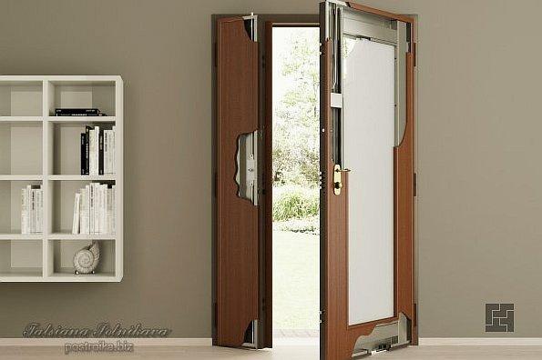 Двухстворчатые металлические двери: виды и применение