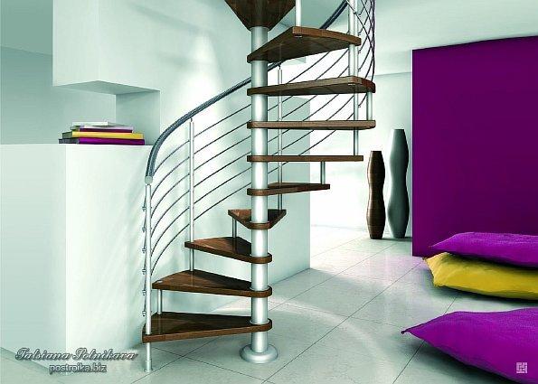 Дизайн лестницы винтовые