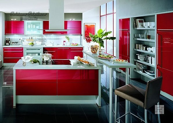 Правила хорошего тона: цвет в интерьере кухни