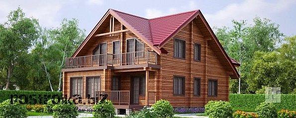 Строительство дома из калиброванного бруса: быстро и красиво