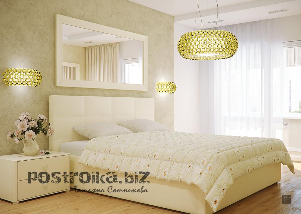 Фото спален с комбинированием обоев маленьких спален 5