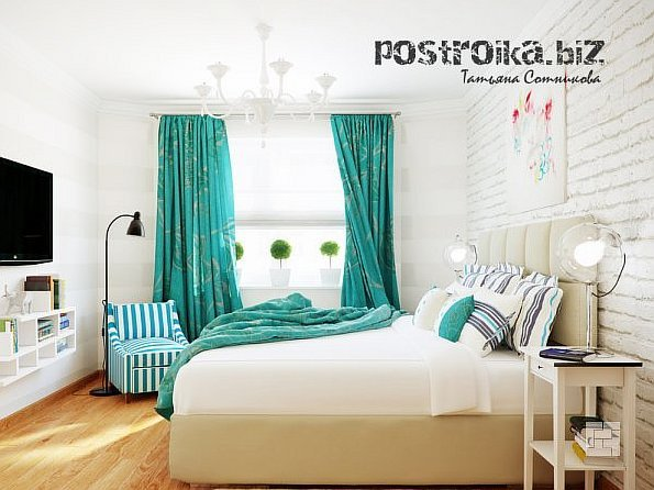 Фото в оконном квадрате, или Последние тенденции дизайна штор для спальни