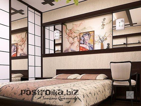 Стиль в фото: интерьер спальни в хрущевке, где размер имеет значение!