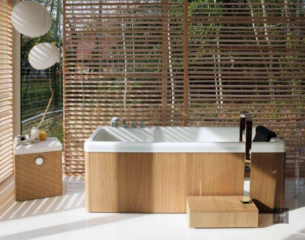 деревянная ванная экостиль