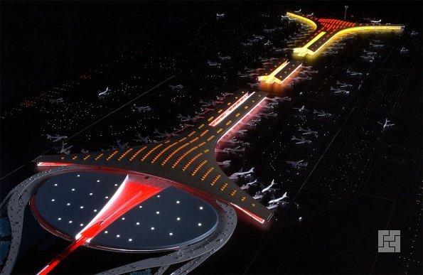 Терминал аэропорта в Пекине