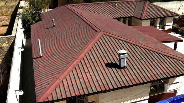 "Крыша, покрытая ""Ондулином"""