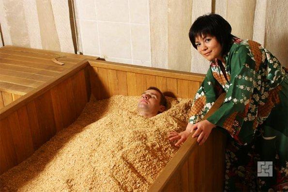 Процедура о-фуро - важный элемент японской банной церемонии