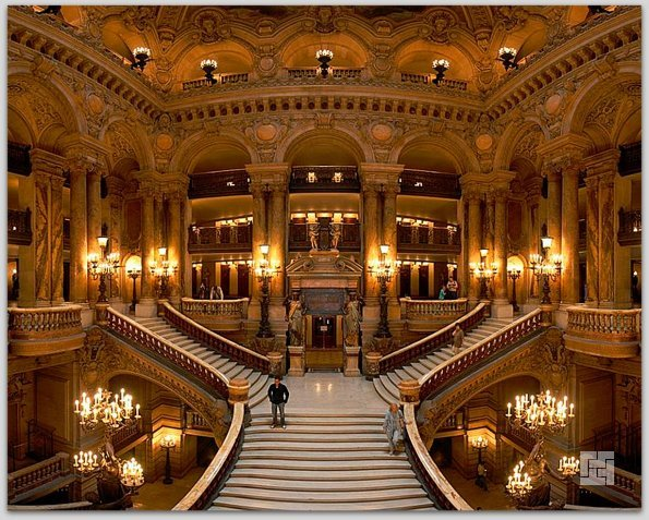 Вестибиль Grand Operа, главная лестница