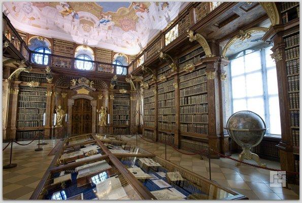 Библиотека аббатства Мельке