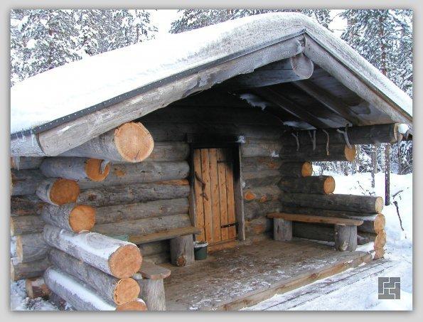 Классическая финская сауна