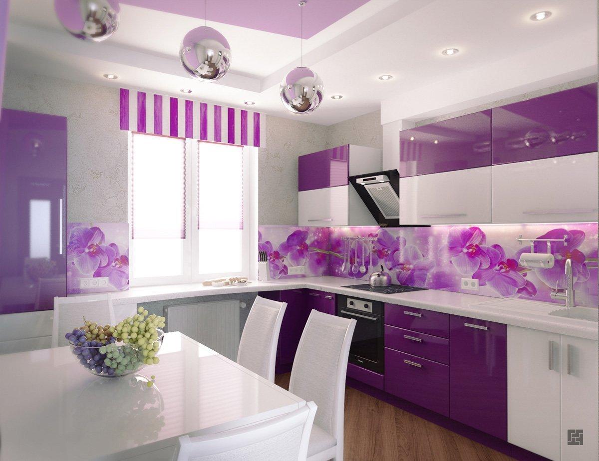 Как выбрать цвет дизайна кухни