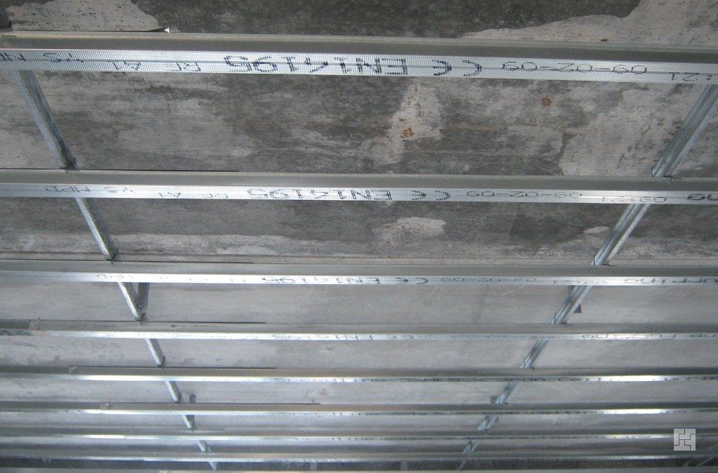 Монтаж алюминиевого реечного потолка своими руками фото