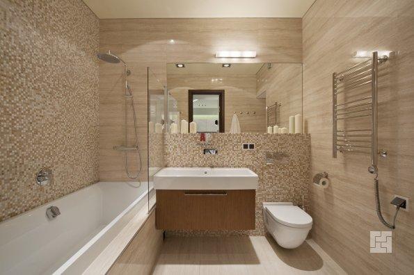 ванная комната в стиле модерн