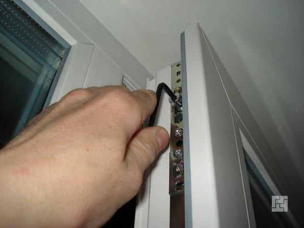 регулировка окна своими руками