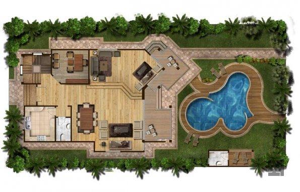 план постройки бассейна