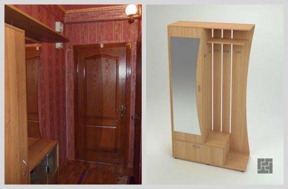 использование универсальных шкафов в дизайне прихожей