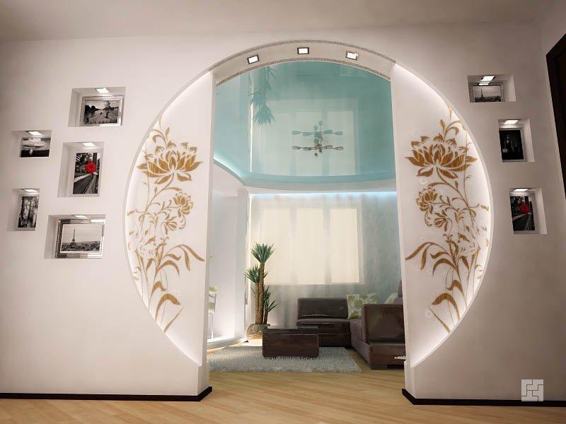 Дизайн арки в квартире фото