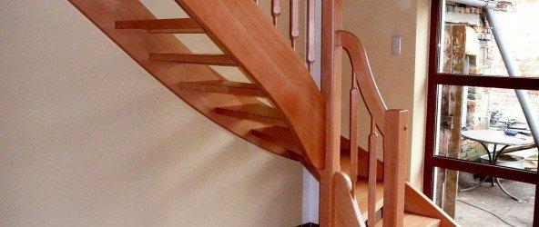 Как построить маршевую лестницу своими руками