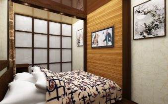 Дизайн и размещение мебели в маленькой спальне