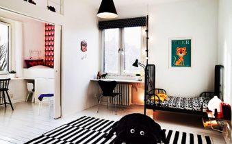 Оформляем детскую комнату в скандинавском стиле