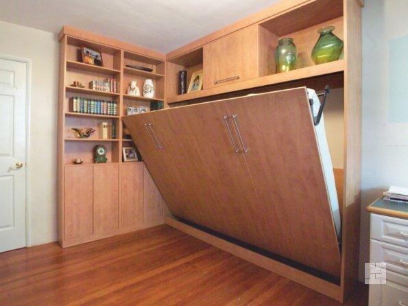 Мебель в спальне должна быть компактной