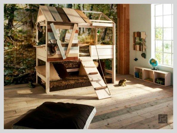 Вариант оформления детской комнаты в скандинавском стиле