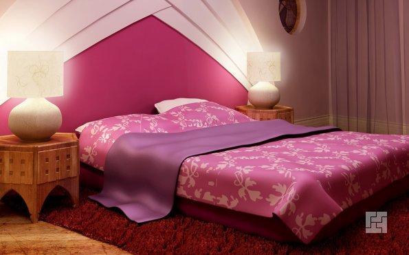 Свет в маленькой спальне
