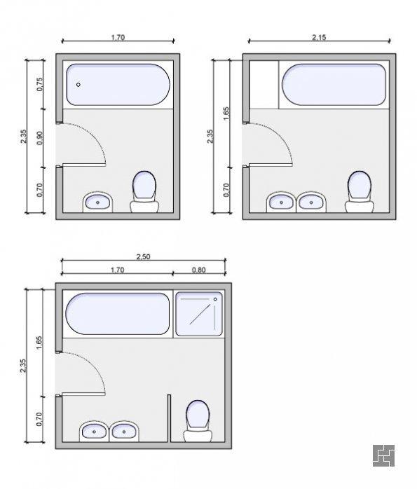 простые дизайн проекты маленькой ванной