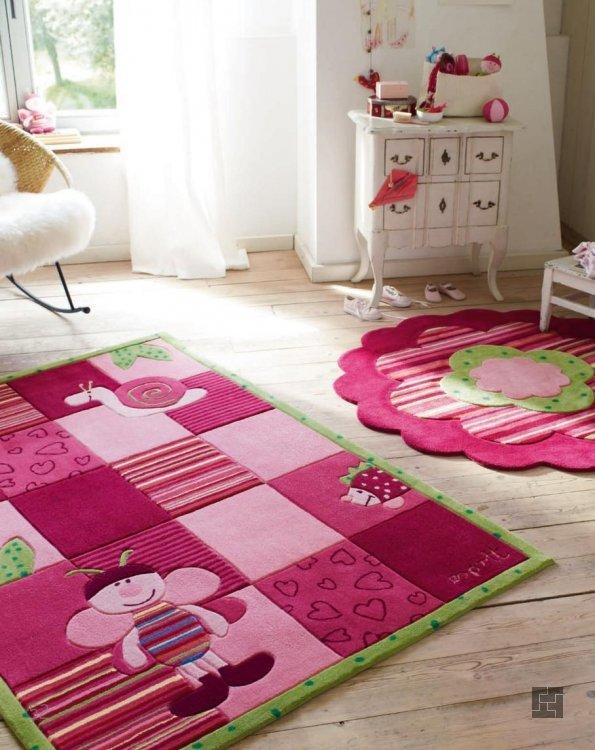 Детские ковры из шерсти