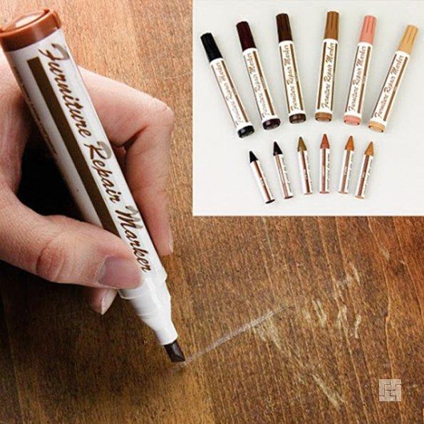 Специальные маркеры, содержащие краску для дерева