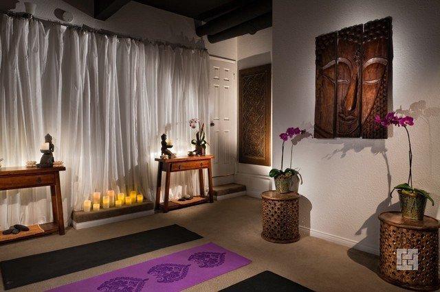 дизайн комнаты для йоги фото